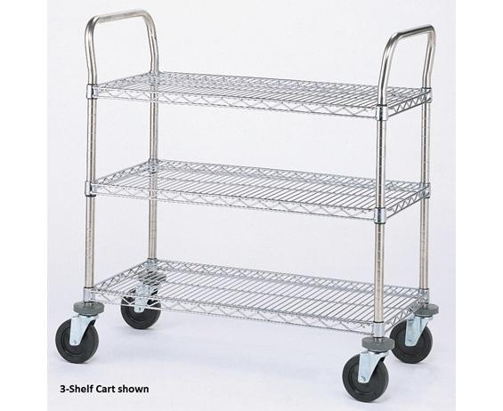 WIRE UTILITY CARTS