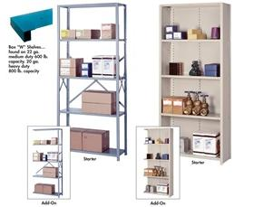 "HEAVY DUTY 36"" WIDE INDUSTRIAL SHELVING"