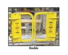 DOUBLE SELF-CLOSING SWING GATES