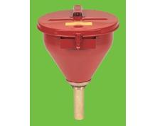 LOCKABLE DRUM FUNNEL