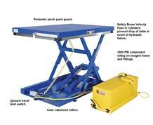 LOW PROFILE SCISSORS TABLE